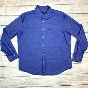 American Eagle Outfitters Men's Oxford Shirt